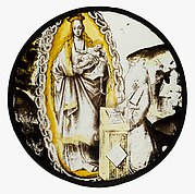 Roundel with Virgin and Child
