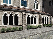 Three Sections of Cloister Arcade