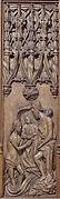 Panel with the Baptism of Christ