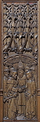 Panel with the Marriage of the Virgin and Joseph
