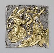 Plaque with The Annunciation