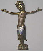 Appliqu&#233; Figure of Christ