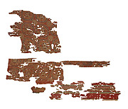 Three Fragments of a Tiraz Inscribed with the Name of the Caliph Marwan