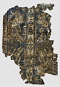 Fragment of a Band with Noble Equestrian and Soldier, Inscribed Joseph in Greek or Coptic