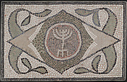 Mosaic of Menorah