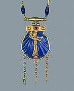 Necklace and Pendant with Aphrodite Anadyomene