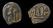Anonymous Follis, Byzantine Type, but without Crosses