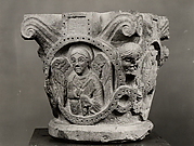 Capital with Symbols of the Evangelists