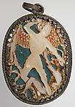 Pendant Medallion with Michael Slaying the Dragon