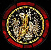 Roundel with Grotesque