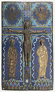Plaque from a Bookcover with the Crucifixion