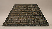 Tomb Plaque of Blanche of France (132892), daughter of Charles IV of France and Jeanne d&amp;#39;Evreux