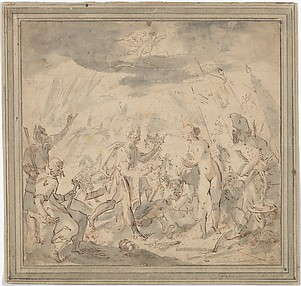 Allegory of the Battle at Selimbar (October 28, 1599)