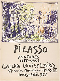 Picasso Paintings 1955–1956, Galerie Louise Leiris