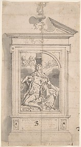 Pieta (Design for an Altar)