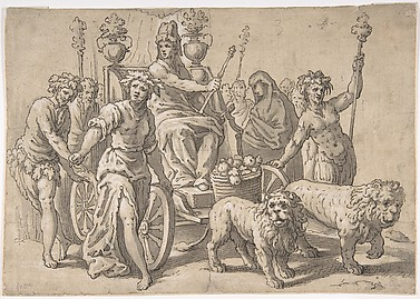 The Triumph of Cybele, after Paolo Fiammingo&#39;s &#39;Triumph of Earth&#39;