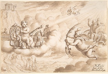 Allegory of Art and Knowledge with the Coat-of-Arms of Hans Wilpert Zoller