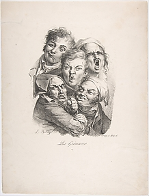 The Grimaces (Les Grimaces) from the series Collection of Grimaces (Recueil des Grimaces)