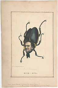 Hum-Bug (P. T. Barnum), from the Comic Natural History of the Human Race