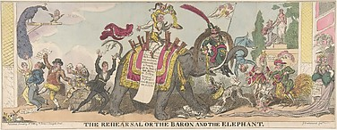 The Rehearsal or the Baron and the Elephant
