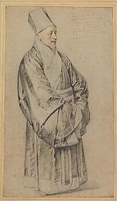 Portrait of Jesuit Nicolas Trigault in Chinese Costume