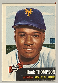 Henry Thompson, Outfielder, New York Giants, from the series Dugout Quiz (no. 20)