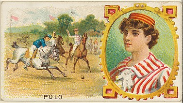 Polo, from the Games and Sports series (N165) for Old Judge Cigarettes