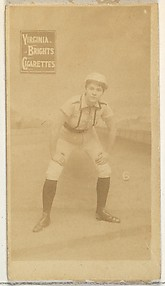 Card 6, from the Girl Baseball Players series (N48, Type 2) for Virginia Brights Cigarettes