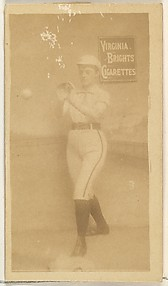 Card 3, from the Girl Baseball Players series (N48, Type 2) for Virginia Brights Cigarettes
