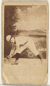 Card 3, from the Girl Baseball Players series (N48, Type 1) for Virginia Brights Cigarettes