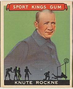 Knute Rockne, Football