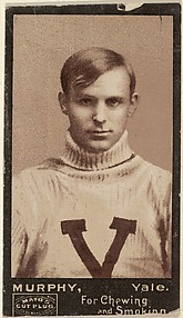 Murphy, Yale University, from the College Football Stars series (N302) for Mayo's Cut Plug Tobacco