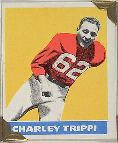 Charley Trippi, from the All-Star Football series (R401-2), issued by Leaf Gum Company
