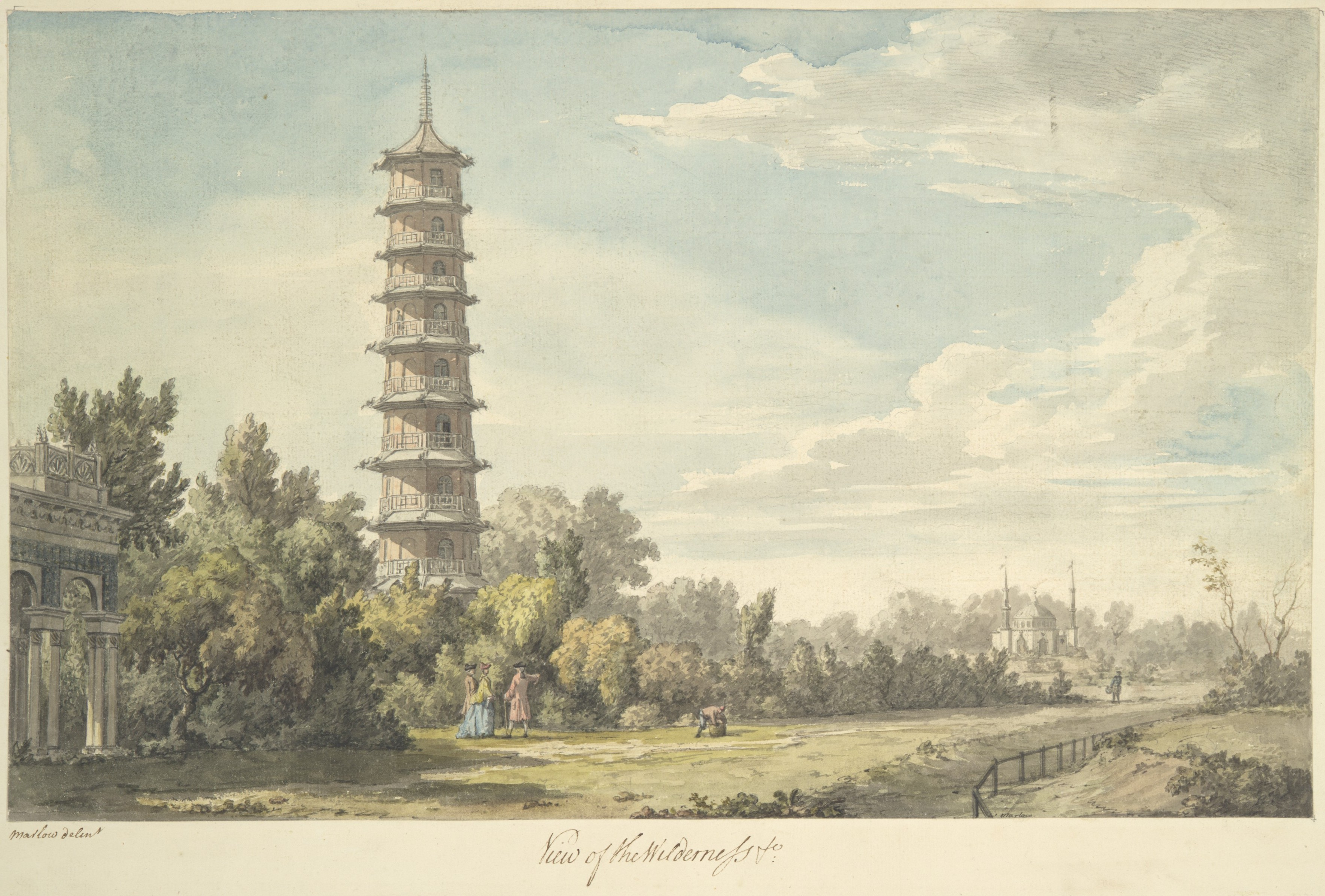 William Chambers, A Dissertation on Oriental Gardening, 1772