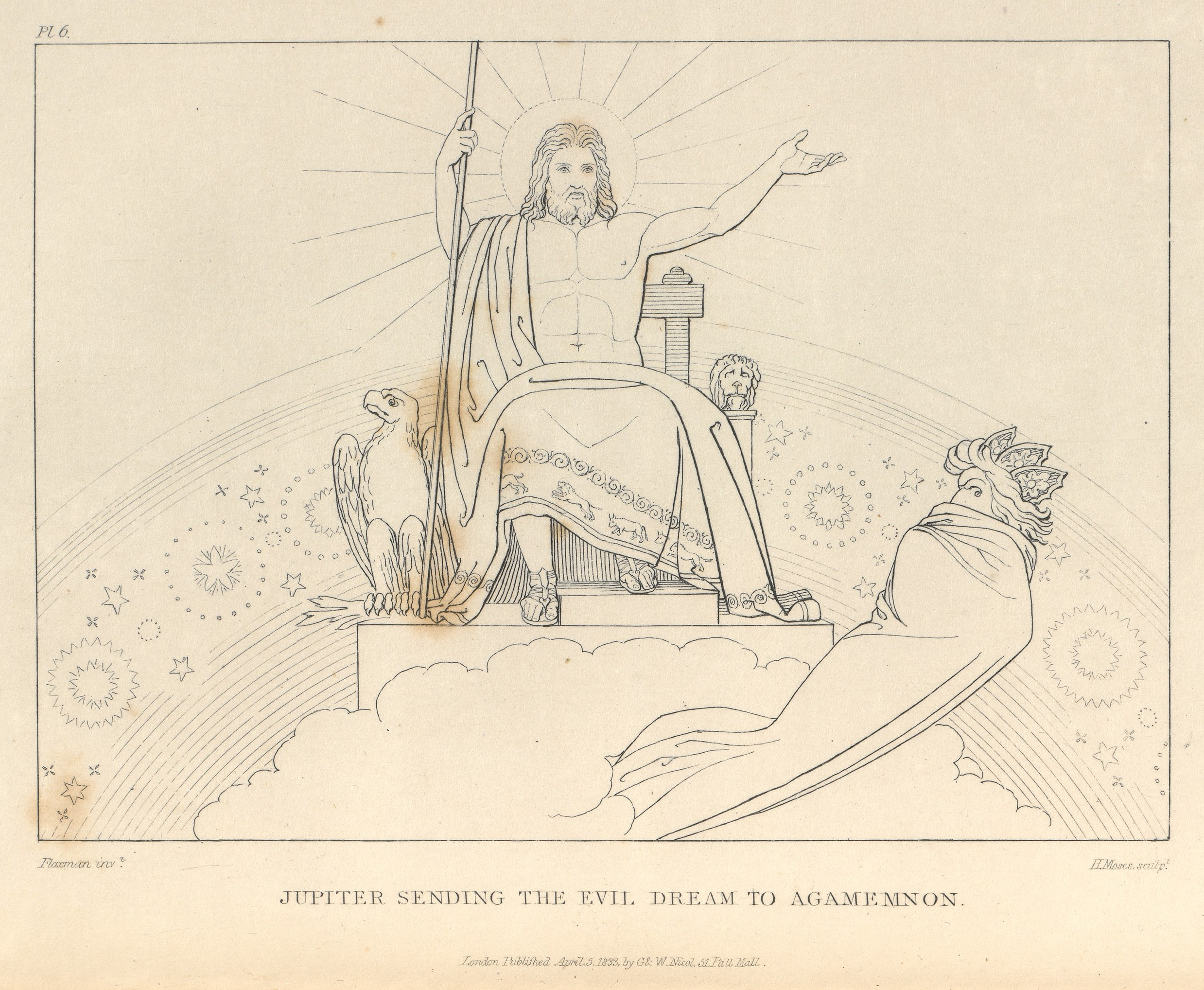 john flaxman the iliad of homer engraved from the compositions the iliad and the odyssey