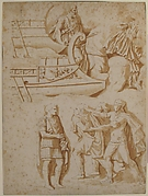 Studies of Details from Trajan&#39;s Column