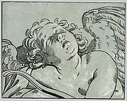 A sleeping cupid