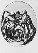 Saints Matthias, Simon, and Judas Thadeus, from the series The Apostles