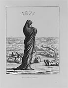 Épouvantée de l'Héritage, 1871, from L'Album du Siège
