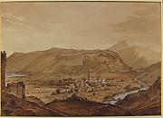 Village in an Alpine Valley