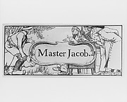 Master Jacob, illustration for Harper's Young People (1886) and The Wonder Clock by Howard Pyle (1888)