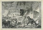 La Cour de Ferme (1762)