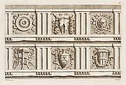 Esemplare di Alcuni ornati, per la gioventù amante del Disegno