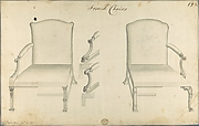 Two French Chairs, in Chippendale Drawings, Vol. I