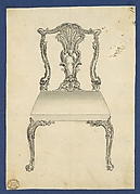 Chair, in Chippendale Drawings, Vol. I