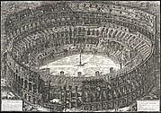 Veduta dell'Anfiteatro Flavio detto il Colosseo