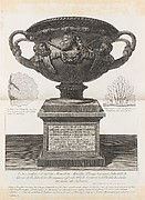 Large vase found at the Pantanello, Hadrian's Villa, Tivoli, in 1770 (The