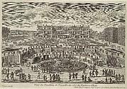 Veue du chasteau de Versailles (View of Versailles, garden facade)