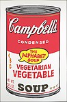 Vegetarian Vegetable from Campbell's Soup II