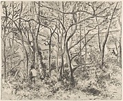 The Woods at L'Hermitage, Pontoise